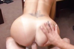 Brunette Victoria Banxxx Pawning Her Mouth And Pussy