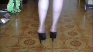 Les pieds d'une femme mature pour un fétichiste