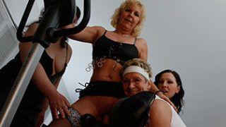 Treffen geiler Hausfrauen