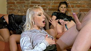 Hot kinky pissing with German group sex