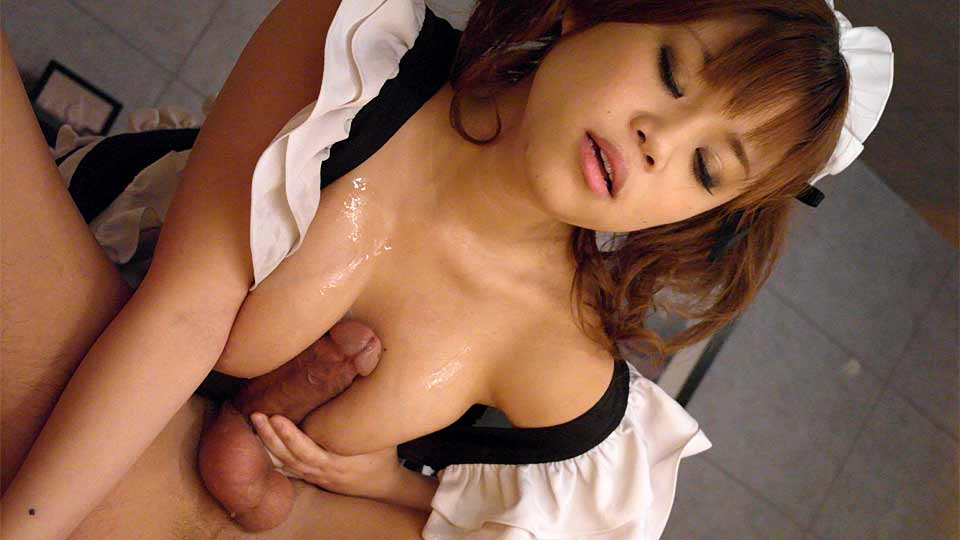Maid Nene Azami satisfying wild fantasies